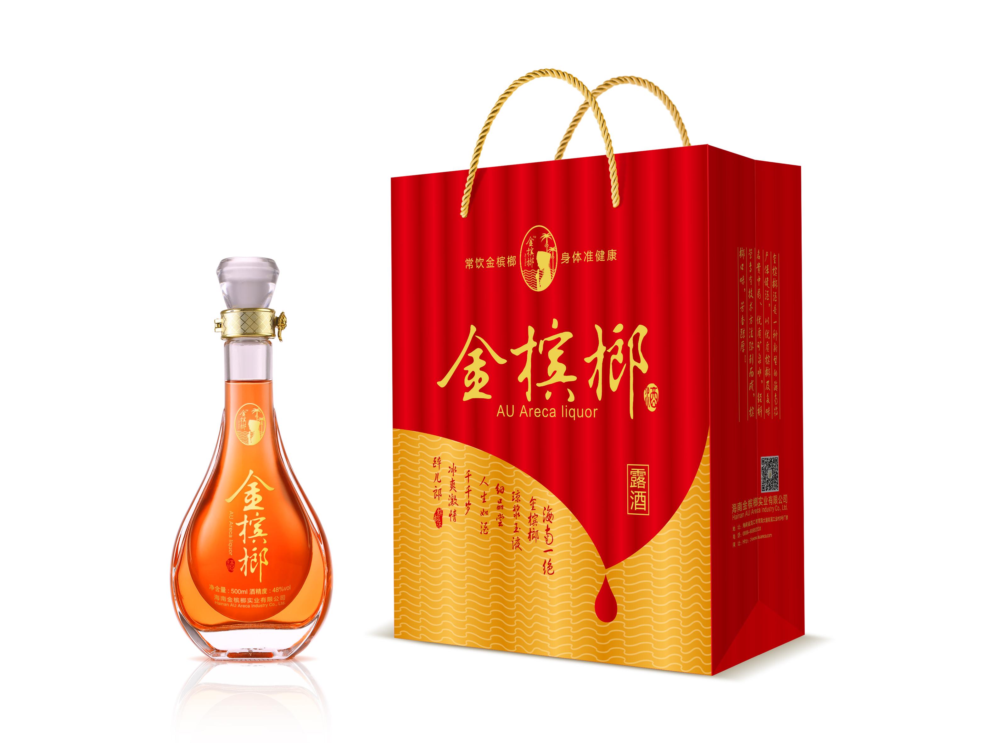 深圳保健酒包装设计案例