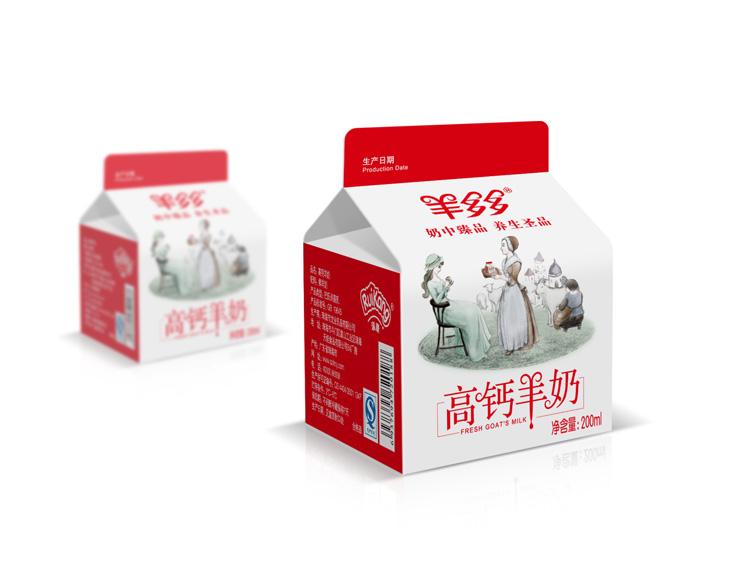 深圳羊奶包装设计