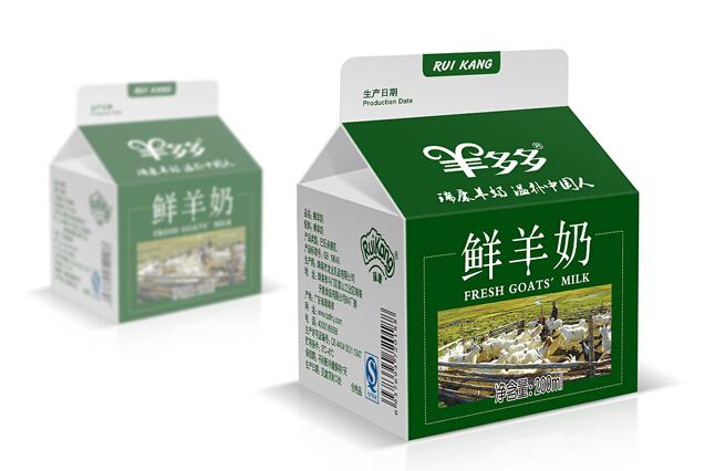 上海奶制品包装印刷设计