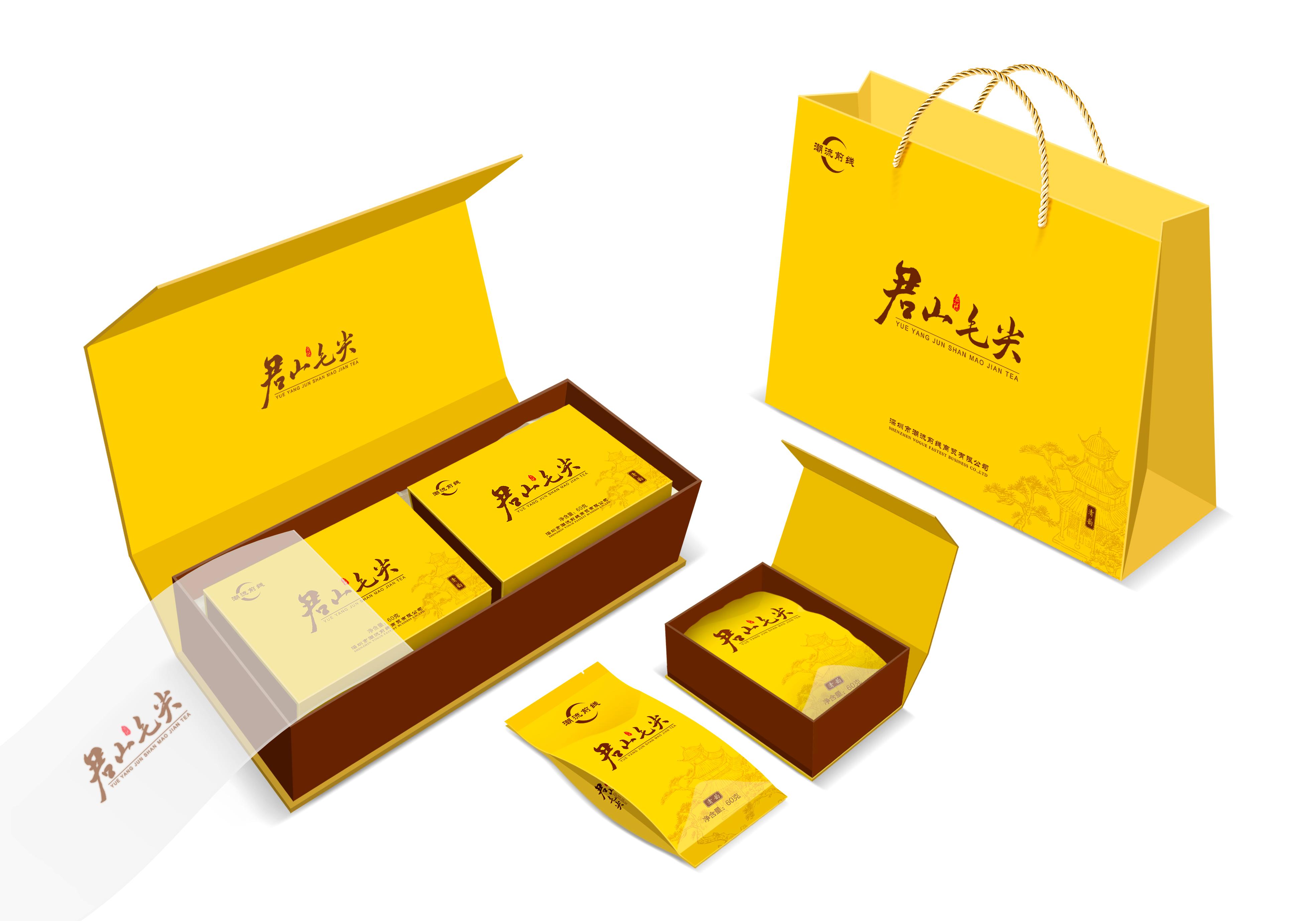 茶叶包装设计之印刷工艺解析